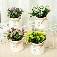 cheap -Artificial Flowers 1 Branch Classic / Single Stylish / Modern Plants / Vase Tabletop Flower