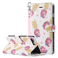 Недорогие Кейсы для iPhone 8 Plus-BENTOBEN Кейс для Назначение Apple iPhone 8 Plus / iPhone 7 Plus Кошелек / Бумажник для карт / со стендом Чехол Фрукты Твердый Кожа PU / ПК для iPhone 8 Pluss / iPhone 7 Plus
