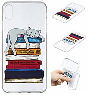 Недорогие Кейсы для iPhone 8 Plus-Кейс для Назначение Apple iPhone XS / iPhone XS Max С узором Кейс на заднюю панель Кот Мягкий ТПУ для iPhone XS / iPhone XR / iPhone XS Max