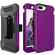 Недорогие Кейсы для iPhone 8 Plus-BENTOBEN Кейс для Назначение Apple iPhone 8 Plus / iPhone 7 Plus Защита от удара / Матовое Чехол Однотонный Твердый ТПУ / ПК для iPhone 8 Pluss / iPhone 7 Plus / iPhone 6s Plus