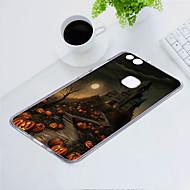 preiswerte Handyhüllen-Hülle Für Huawei P10 Lite Staubdicht / Ultra dünn / Muster Rückseite Totenkopf Motiv Weich TPU für P10 Lite