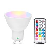 abordables Focos LED-YWXLIGHT® 1pc 5 W 400-500 lm GU10 Focos LED 24 Cuentas LED SMD Regulable / Control Remoto RGBW / RGBWW 85-265 V