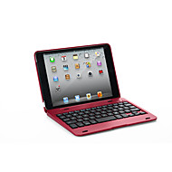 abordables 10% de DESCUENTO y Más-Funda Para Apple iPad Mini 3/2/1 / J6 con Teclado Funda de Cuerpo Entero Un Color Dura Cuero de PU para iPad Mini 3/2/1