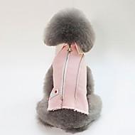 abordables -Chiens / Chats Veste Vêtements pour Chien Personnage / Britannique Bleu / Rose Coton Costume Pour les animaux domestiques Unisexe Guêtres / Style Simple