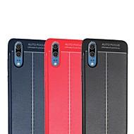 preiswerte Handyhüllen-Hülle Für Huawei P20 / P20 Pro Ultra dünn Rückseite Solide Weich TPU für Huawei P20 / Huawei P20 Pro / Huawei P20 lite