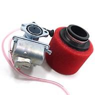 Недорогие Запчасти для мотоциклов и квадроциклов-molkt 26mm carb цветной воздушный фильтр установлен для lifan 125 yx140 loncin 150cc грязи ямы велосипед atv