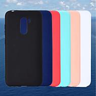 preiswerte Handyhüllen-Hülle Für Xiaomi Xiaomi Pocophone F1 / Mi 6X Mattiert Rückseite Solide Weich TPU für Xiaomi Pocophone F1 / Xiaomi Mi 6X(Mi A2) / Xiaomi A1
