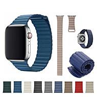お買い得  日替わりバーゲン-時計バンド のために Apple Watch Series 4/3/2/1 Apple スポーツバンド 本革 リストストラップ