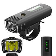 お買い得  フラッシュライト/ランタン/ライト-自転車用ヘッドライト LED 自転車用ライト サイクリング 防水, アンチグレア, 光センサー 充電式リチウムイオン電池 650 lm ホワイト キャンプ / ハイキング / ケイビング / サイクリング