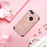 cheap Cell Phone Cases-BENTOBEN Case For Huawei P8 Lite (2017) Shockproof / Plating / Glitter Shine Back Cover Solid Colored / Glitter Shine Hard PU Leather / TPU / PC for P8 Lite (2017)