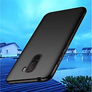 Case For Xiaomi Xiaomi Pocophone F1 / Mi 8 Ultra-thin Back Cover Solid Colored Hard PC for Xiaomi Pocophone F1 / Xiaomi Mi 8 / Xiaomi Mi 8 SE