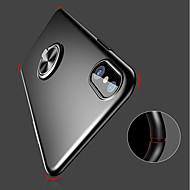 Etui Til Apple iPhone XR / iPhone XS Max Ringholder / Ultratyndt / Syrematteret Bagcover Ensfarvet Hårdt PC for iPhone XS / iPhone XR / iPhone XS Max