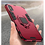 Funda Para Apple iPhone XR / iPhone XS Max Antigolpes / Soporte para Anillo Funda Trasera Un Color Dura ordenador personal para iPhone XS / iPhone XR / iPhone XS Max