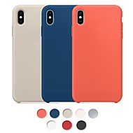 billige -Cooho Etui Til Apple iPhone X / iPhone XS Max Stødsikker / Støvsikker / Vandafvisende Bagcover Ensfarvet Hårdt Gummi for iPhone XS Max / iPhone X