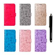 preiswerte Handyhüllen-Hülle Für Google Pixel 2 XL / Pixel 2 Geldbeutel / Kreditkartenfächer / mit Halterung Ganzkörper-Gehäuse Katze / Schmetterling Hart PU-Leder für Pixel 2 / Pixel 2 XL