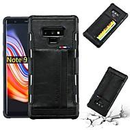 Недорогие Чехлы и кейсы для Galaxy S8-Кейс для Назначение SSamsung Galaxy S8 Plus / S8 Бумажник для карт / Защита от удара / Защита от пыли Кейс на заднюю панель Однотонный Мягкий Кожа PU для S8 Plus / S8
