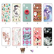 preiswerte Handyhüllen-Hülle Für Huawei P20 lite Staubdicht / Ultra dünn / Muster Rückseite Flamingo / Weihnachten / Farbverläufe Weich TPU für Huawei P20 lite