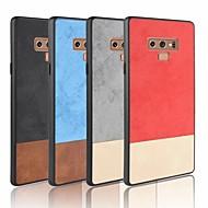 Недорогие Чехлы и кейсы для Galaxy Note 8-Кейс для Назначение SSamsung Galaxy S9 Plus / S9 Матовое Кейс на заднюю панель Однотонный Мягкий Кожа PU для Note 9 / Note 8 / Note 4