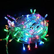 abordables Tiras de Luces LED-10m Cuerdas de Luces 100 LED Multicolor Decorativa 220-240 V 1 juego