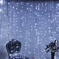 abordables Tiras de Luces LED-Brelong Christmas 600led cortina cadena ligera regulación europea 220v 1 pc