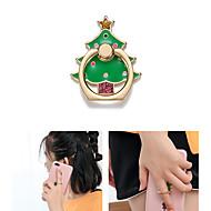 billige Universal mobiltilbehør-Skrivebord Monter stativholder Christmas Santa Claus Phone Holder Justerbar / 360 ° Rotation Metal Holder
