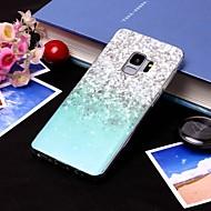 Недорогие Чехлы и кейсы для Galaxy S9 Plus-Кейс для Назначение SSamsung Galaxy S9 Plus / S9 IMD / Полупрозрачный Кейс на заднюю панель Пейзаж Мягкий ТПУ для S9 / S9 Plus / S8 Plus