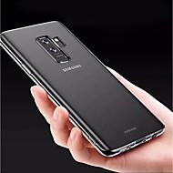 Недорогие Чехлы и кейсы для Galaxy S9-Кейс для Назначение SSamsung Galaxy S9 Plus / S8 Plus Прозрачный Кейс на заднюю панель Однотонный Мягкий ТПУ для S9 / S9 Plus / S8 Plus