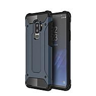 Недорогие Чехлы и кейсы для Galaxy S8 Plus-Кейс для Назначение SSamsung Galaxy S9 Plus / S9 / S8 Plus Защита от удара Кейс на заднюю панель броня Твердый ПК для S9 / S9 Plus / S8 Plus