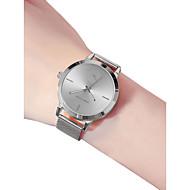 billige -Dame Armbåndsur Quartz 30 m Vandafvisende Nyt Design Rustfrit stål Bånd Analog Afslappet Mode Sort / Sølv / Guld - Sort Sølv Rose Guld