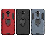 お買い得  携帯電話ケース-ケース 用途 Huawei Mate 9 耐衝撃 / バンカーリング バックカバー ソリッド / 鎧 ハード PC のために Mate 9