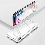 Недорогие Защитные плёнки для экранов iPhone 8 Plus-Cooho Защитная плёнка для экрана для Apple iPhone XS / iPhone XR / iPhone XS Max Закаленное стекло 2 штs Защитная пленка для экрана HD / Уровень защиты 9H / Взрывозащищенный