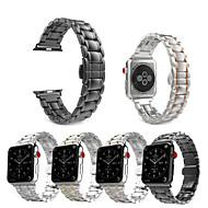 abordables 30% de DESCUENTO y Más-Ver Banda para Apple Watch Series 4/3/2/1 Apple Correa Deportiva Acero Inoxidable Correa de Muñeca