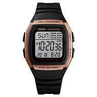SKMEI Pánské Sportovní hodinky Vojenské hodinky Digitální hodinky Digitální Z umělé kůže Černá 50 m Alarm Kalendář Chronograf Digitální Na běžné nošení Módní - Zelená Modrá Růžové zlato Jeden rok
