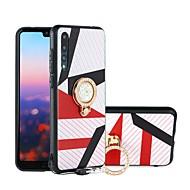 お買い得  携帯電話ケース-ケース 用途 Huawei P20 / P20 lite 耐衝撃 / 耐埃 / 耐水 バックカバー 幾何学模様 ソフト TPU のために Huawei P20 / Huawei P20 Pro / Huawei P20 lite