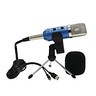 abordables Obsolete Products-USB Micrófono Con Cable Micrófono Condensador Micrófono de Mano Para Micrófono de Ordenador