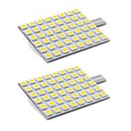 abordables Intermitentes para Coche-2pcs T10 Motocicleta / Coche Bombillas 3 W SMD 5050 280 lm 24 LED Luz de Intermitente / Luces interiores Para Universal Universal Universal