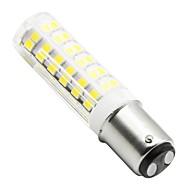billige -2pcs 4.5 W 450 lm BA15d LED-kolbepærer T 76 LED Perler SMD 2835 Dæmpbar Varm hvid / Kold hvid 110 V