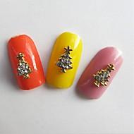 abordables -10 pcs Bijoux pour ongles Multi Fonction / Meilleure qualité Créatif Arbre de Noël Manucure Manucure pédicure Noël Branché / Mode