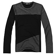 cheap -Men's Basic / Street chic T-shirt - Color Block