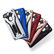 お買い得  携帯電話ケース-ケース 用途 OPPO R11 Plus / R11 耐衝撃 / スタンド付き バックカバー ソリッド / 鎧 ハード PC のために Oppo R11s / Oppo R11 Plus / Oppo R11