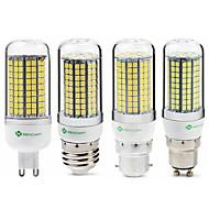 billiga -SENCART 1st 6 W LED-lampa 950 lm E14 G9 GU10 T 180 LED-pärlor SMD 2835 Ny Design Dekorativ Varmvit Vit 220-240 V 110-130 V