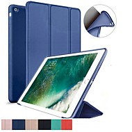 cheap iPad Accessories-Case For Apple iPad (2018) / iPad Pro 11'' Shockproof / Flip / Ultra-thin Full Body Cases Solid Colored Soft Silicone for iPad Air / iPad 4/3/2 / iPad Mini 3/2/1