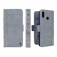 preiswerte Handyhüllen-Hülle Für Huawei P20 Pro / P20 lite Geldbeutel / Kreditkartenfächer / Stoßresistent Ganzkörper-Gehäuse Solide Hart PU-Leder für Huawei P20 / Huawei P20 Pro / Huawei P20 lite