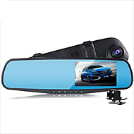 tanie Elektronika samochodowa-D790S 1080P Rejestrator samochodowy 140 stopni Szeroki kąt 4.3 in Dash Cam z Czujnik przyspieszenia / Tryb parkingowy / Wykrywanie ruchu Nie Rejestrator samochodowy / Nagrywanie w pętli / Fotografia