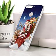 preiswerte Handyhüllen-Hülle Für Huawei Honor 7X Ultra dünn / Muster Rückseite Weihnachten Weich TPU für Honor 7X