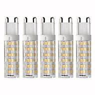 abordables Bombillas LED de Mazorca-5pcs 4.5 W 450 lm G9 Bombillas LED de Mazorca T 76 Cuentas LED SMD 2835 Regulable Blanco Cálido / Blanco Fresco 220 V