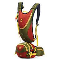 お買い得  -Jungle King 30 L バックパック - 通気性, 耐久性 アウトドア ハイキング, 登山, トラベル ナイロン ブラック, オレンジ, ブルー