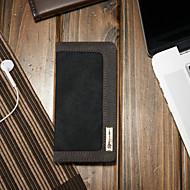 Недорогие Чехлы и кейсы для Galaxy S-CaseMe Кейс для Назначение SSamsung Galaxy S7 edge Кошелек / Бумажник для карт / со стендом Чехол Однотонный Твердый текстильный для S7 edge
