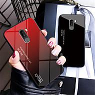 preiswerte Handyhüllen-Hülle Für Xiaomi Xiaomi Pocophone F1 / Xiaomi A2 lite Spiegel Rückseite Farbverläufe Hart Gehärtetes Glas für Xiaomi Pocophone F1 / Xiaomi Mi 8 / Xiaomi Mi 8 SE