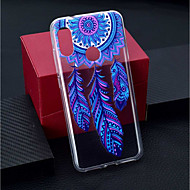 お買い得  携帯電話ケース-ケース 用途 Xiaomi Xiaomi Pocophone F1 / Xiaomi Redmi 6 Pro クリア / パターン バックカバー ドリームキャッチャー ソフト TPU のために Xiaomi Redmi Note 6 / Xiaomi Pocophone F1 / Xiaomi Redmi 6 Pro